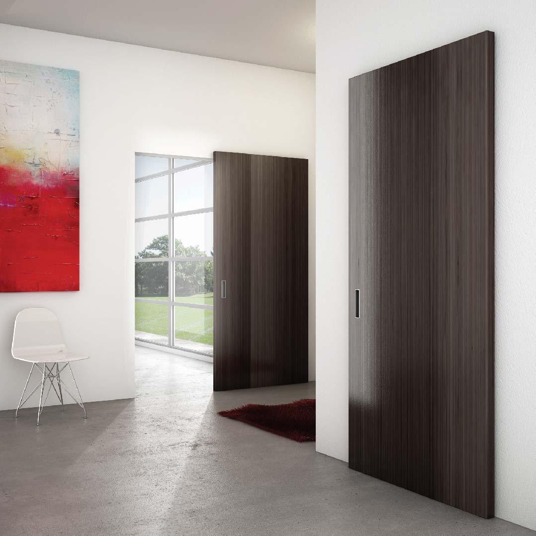 Guía corredera para puerta madera Magic